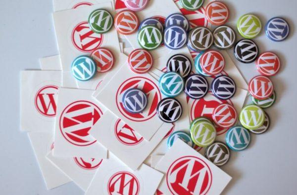 WordPressバッジ
