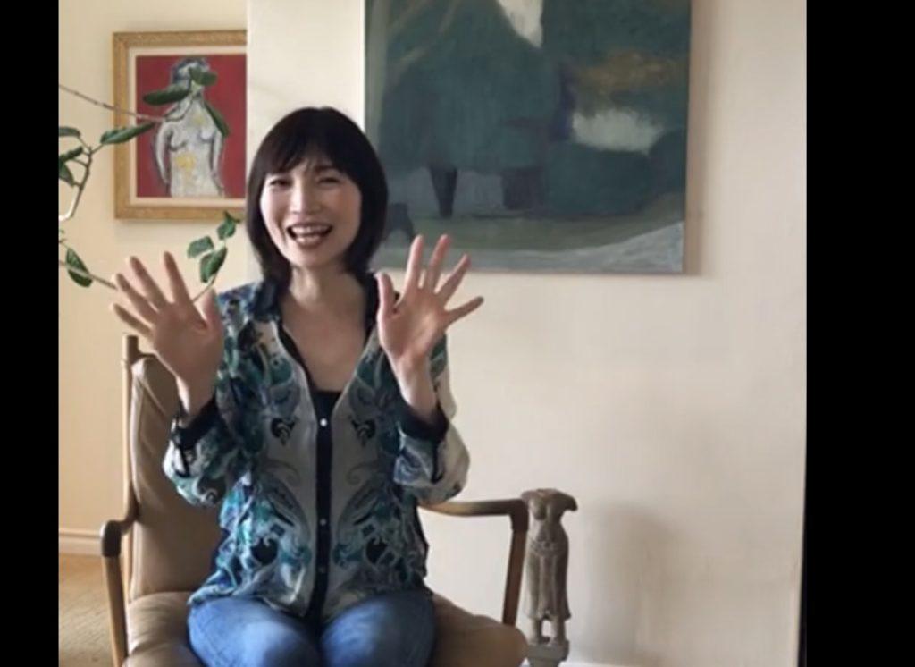 行正り香さん 英語講座